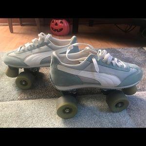 Puma old school rollerskates
